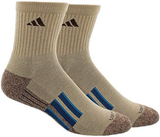 adidas Men's 2-Pk. Climalite X Ii Mid-Crew Socks