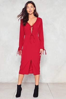 Nasty Gal See Spot Run Midi Dress