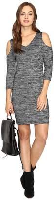 Kensie Space Dye Jersey Dress KSDK7418 Women's Dress