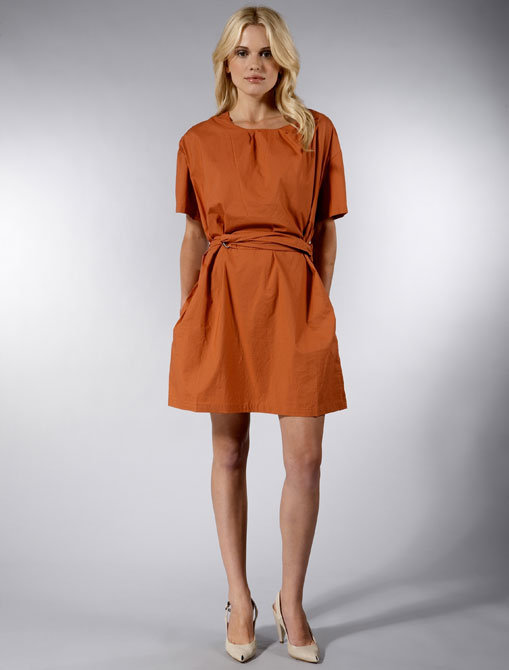 Acne Jeans Global Short Sleeve Dress in Brixton