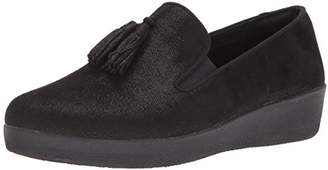 FitFlop Women's Tassel Superskate Shimmer Loafer
