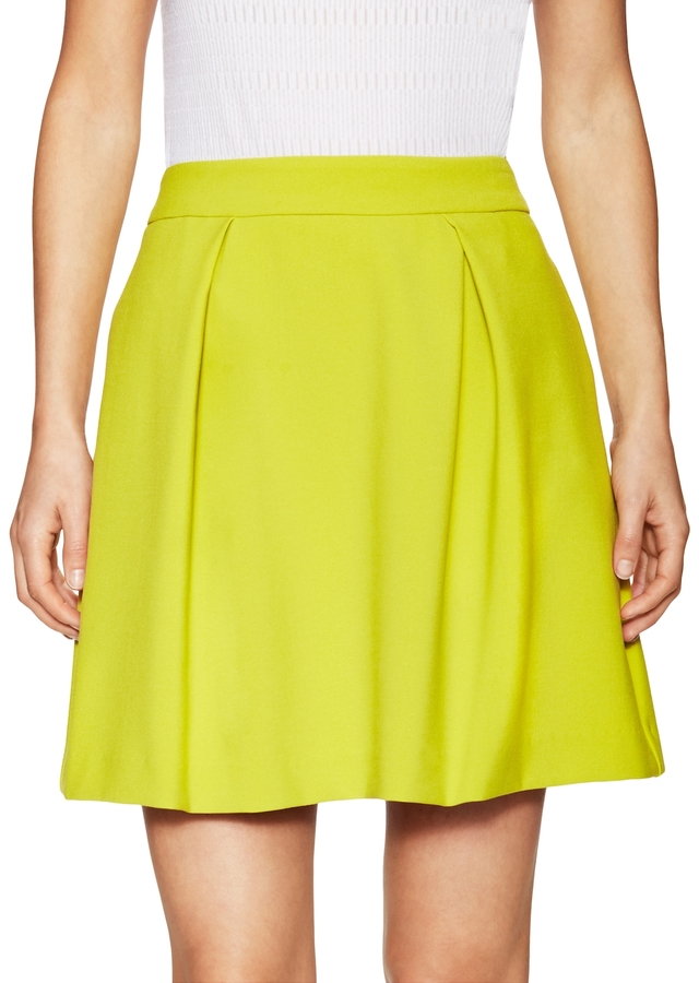 Trina Turk Women's Ferne Pleated Mini Skirt