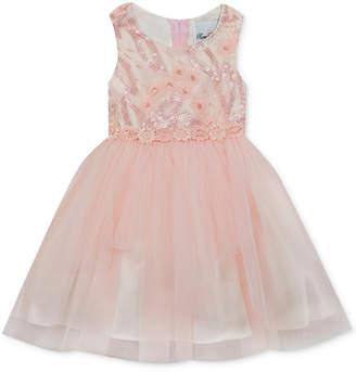 Rare Editions Baby Girls Embellished Ballerina Dress