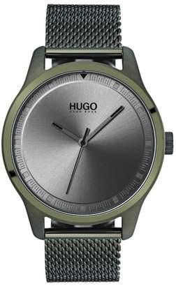 HUGO Move Mesh Strap Watch, 42mm