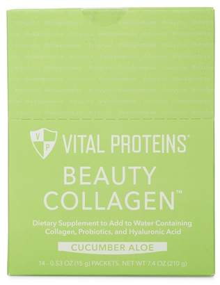 Alöe VITAL PROTEINS Beauty Collagen Supplement Stick Pack - Cucumber Set of 14