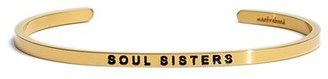 Women's Mantraband 'Soul Sister' Cuff $35 thestylecure.com