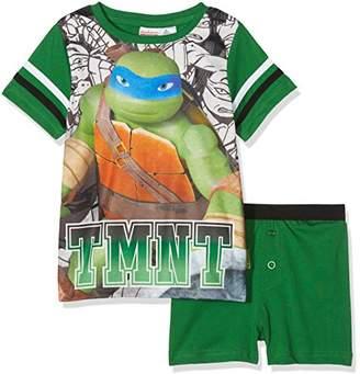 Leonardo TMNT – Teenage Mutant Ninja Turtles Boy's Pyjama Sets,Years (Size: 5-6)