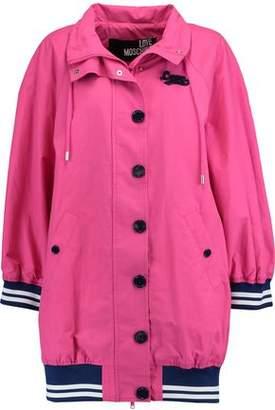 Love Moschino (ラブ モスキーノ) - Love Moschino Oversized Cotton-Blend Coat