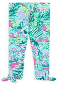 Lilly Pulitzer Little Girl's& Girl's Maia Floral Leggings