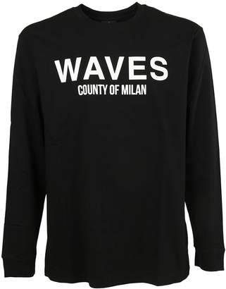 Marcelo Burlon County of Milan Waves Sweatshirt