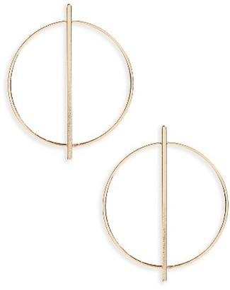 Women's Loren Olivia Circle Hoop Earrings $17.50 thestylecure.com