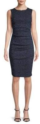 Nicole Miller Lauren Printed Sheath Dress
