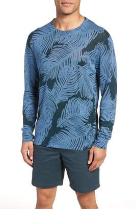 Bonobos Palm Print Linen Sweater
