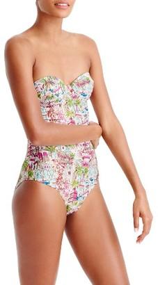 Women's J.crew Eloise Underwire One-Piece Swimsuit $115 thestylecure.com
