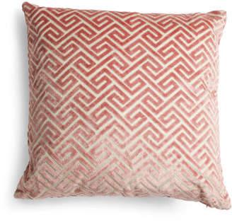 24x24 Maze Velvet Sparkle Reversible Pillow