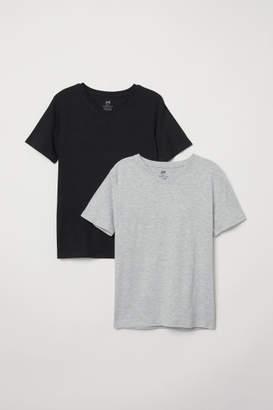 H&M 2-pack T-shirts - Black