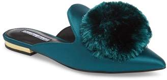 Charles David Wella Pompom Loafer Mule