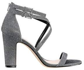 Nina Shari Glitter Block-Heeled Sandals