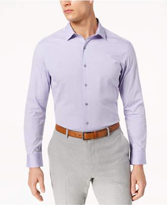 Alfani Men's Slim-Fit Stretch Oval Dobby Dress Shirt, Created for Macy's