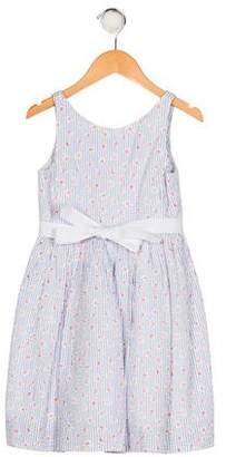 Polo Ralph Lauren Girls' Printed Flared Dress