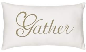Gather Lumbar Accent Pillow