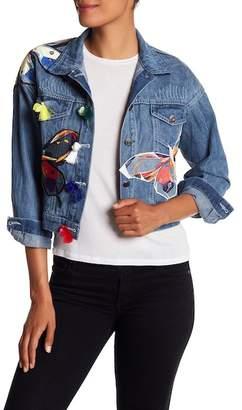 Haute Rogue Butterfly Denim Jacket