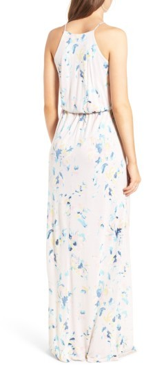 Women's Lush High Neck Maxi Dress 2