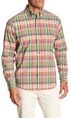 Tailor Vintage Madras Long Sleeve Plaid Shirt