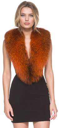 Andrew Marc Fox Fur Scarf