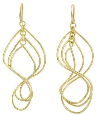1AR by UnoAerre Triple Twist Drop Earrings