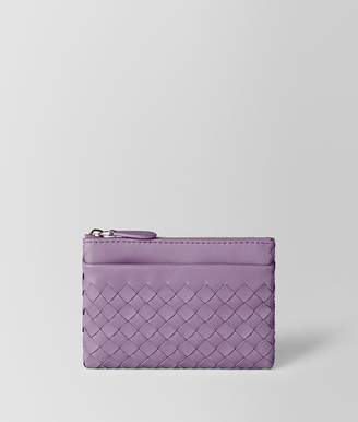 Bottega Veneta Lilac Intrecciato Nappa Key Case