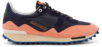 Golden Goose Starland suede raised-sole low-top trainers