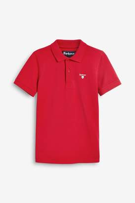 Barbour Boys Essential Rich Red Boys' Polo - Red