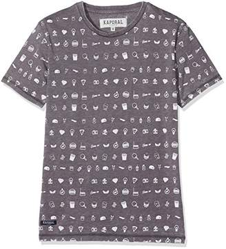 Kaporal Boy's Nulk T-Shirt,(Manufacturer Size: 10A)