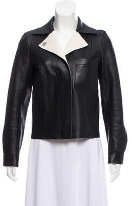 Jason Wu Grey by Notch-Lapel Leather Jacket