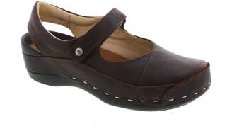 Wolky Ankle Strap Clog