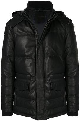 Corneliani fitted down jacket