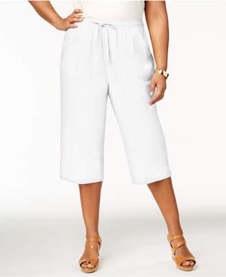Womens Plus Size Cotton Drawstring Pants ShopStyle