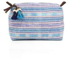 JADEtribe Samui Large Neon Stripe Cosmetic Case