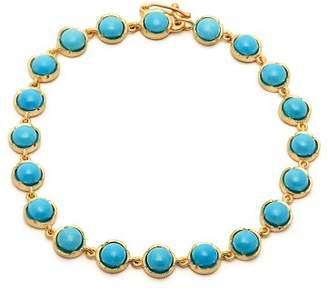 Irene Neuwirth 18kt gold & turquoise bracelet