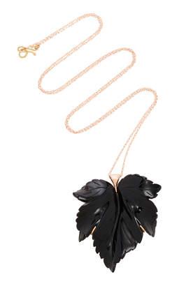 Annette Ferdinandsen M'O Exclusive Fancy Leaf Necklace