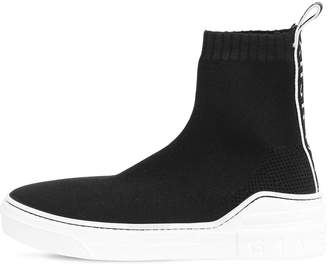 Givenchy 20mm Knit High Top Sneakers