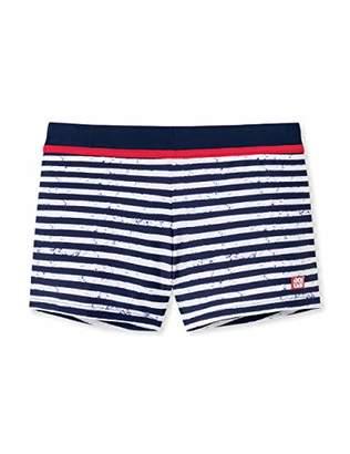 Schiesser Boy's Aqua Bade-Retro Swim Shorts