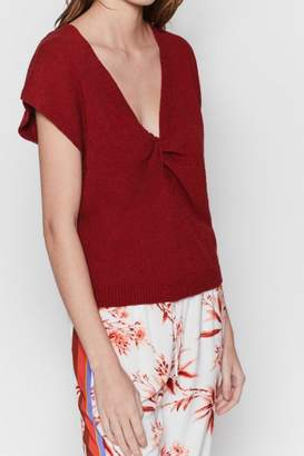 Joie Alenah Cap-Sleeve Sweater
