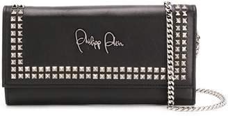Philipp Plein studded clutch