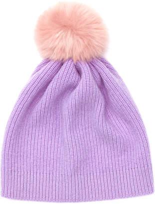 Jigsaw Faux Fur Pom Hat