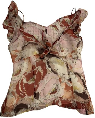 Nicole Farhi Multicolour Silk Top for Women