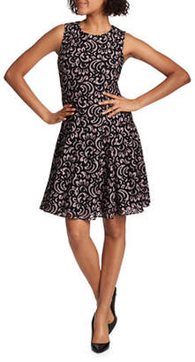 Tommy Hilfiger Fern Lace Sleeveless Fit-and-Flare Dress