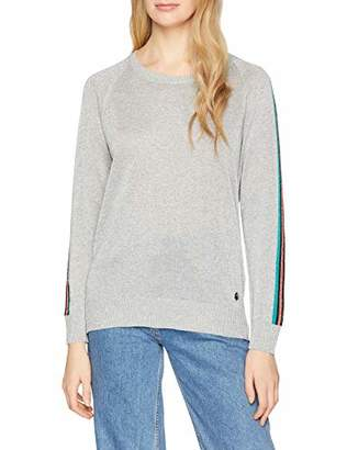 Trussardi Jeans Women's Round Neck Lurex Regular Fit Jumper,M