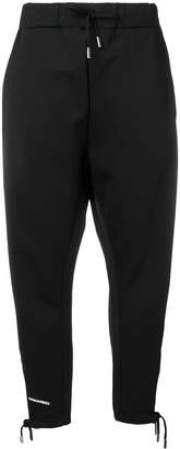 DSQUARED2 tapered leg track pants